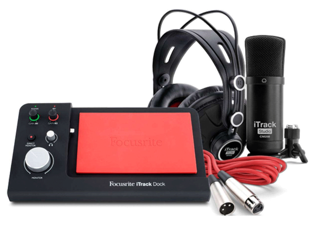 INTERFASE FOCUSRITE ITRACK DOCK STUDIO C/FUNDA