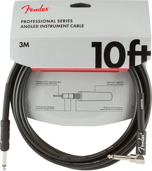 CABLE PRO 10' ANGL INSTRUMENTO NEGRO