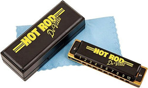 Fender Hot Rod Deville 10 Hole Major Diatonic Harmonica, Clave de G