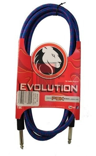 CABLE PLUG A PLUG 3MTS. EVOLUTION DECORADO