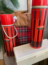 Load image into Gallery viewer, Vintage Thermos Picnic Set