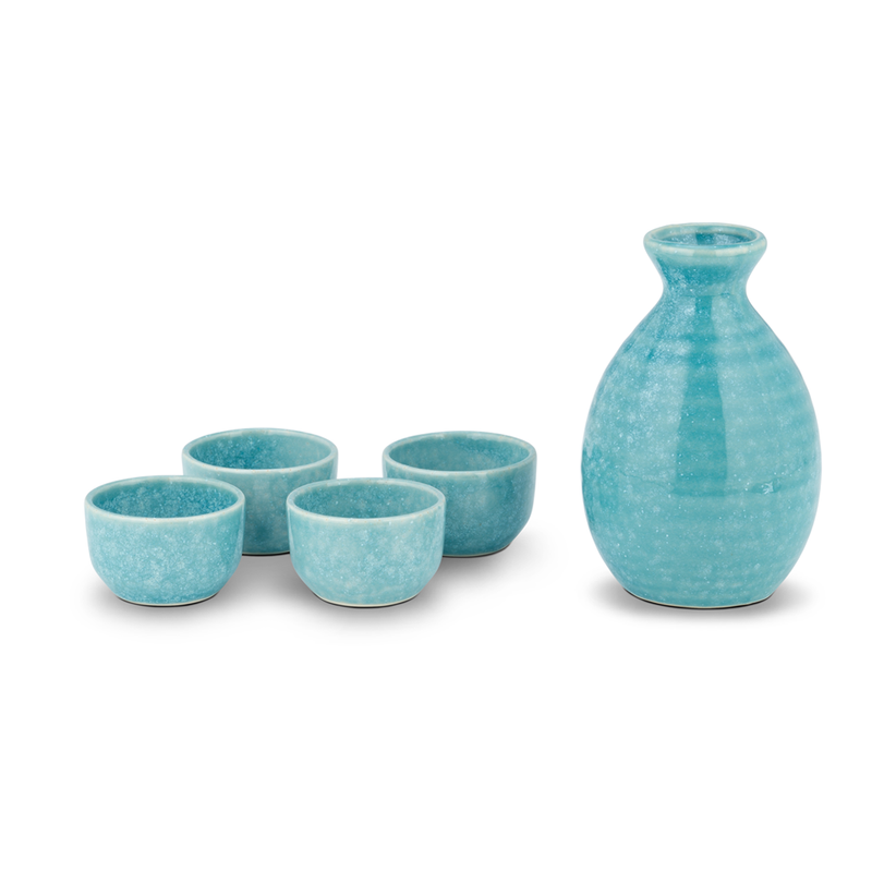 Sake Set - Light Blue