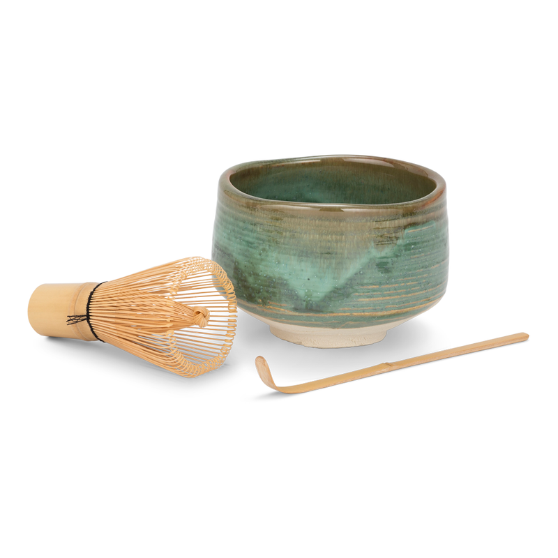 Matchawan Green Tea Set - Green