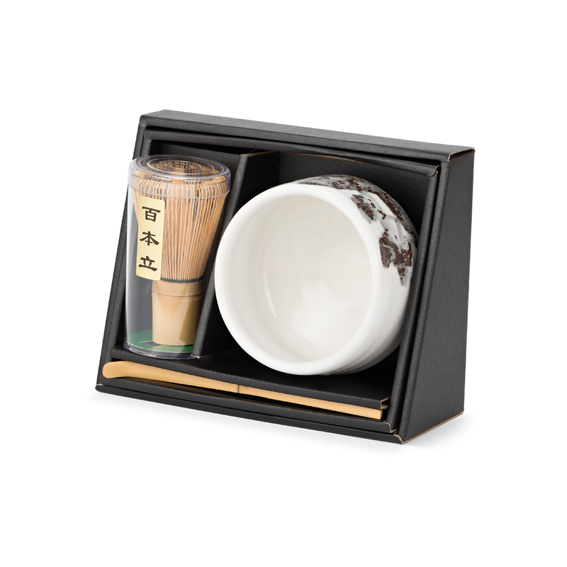 Matchawan Green Tea Set - White