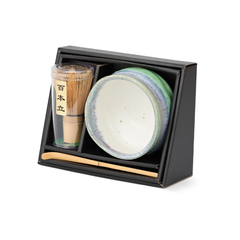 Matchawan Green Tea Set - Shinkai