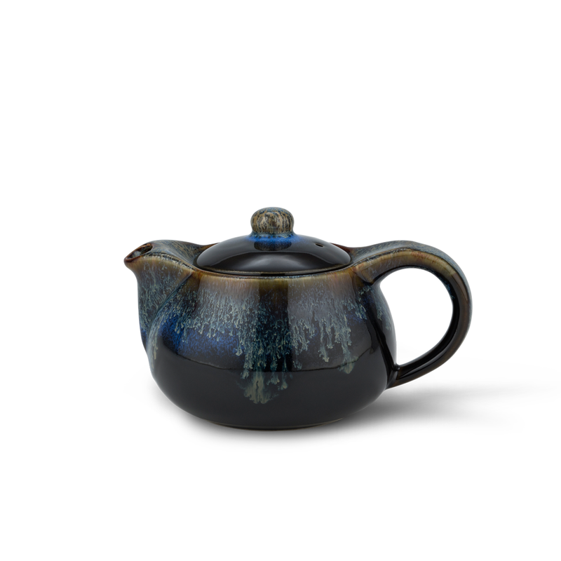 Blue/Black Tea Pot