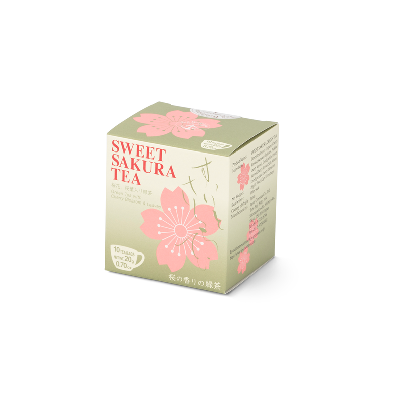 Sweet Sakura Green Tea