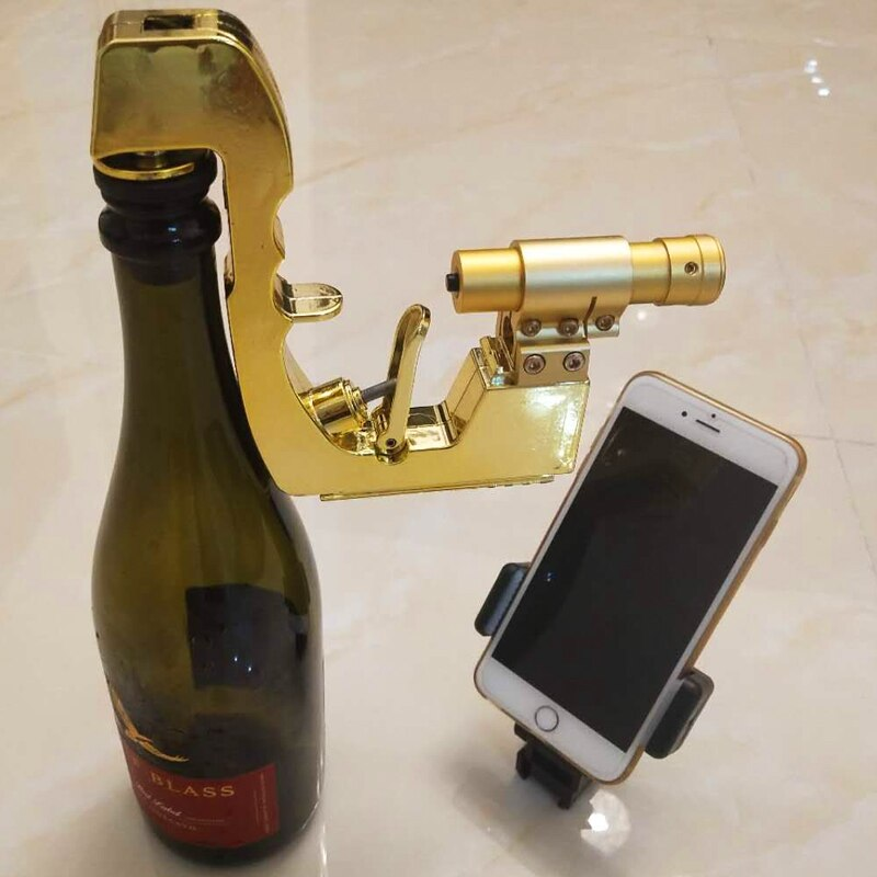 Updated Luxury Golden Champagne Wine Dispenser