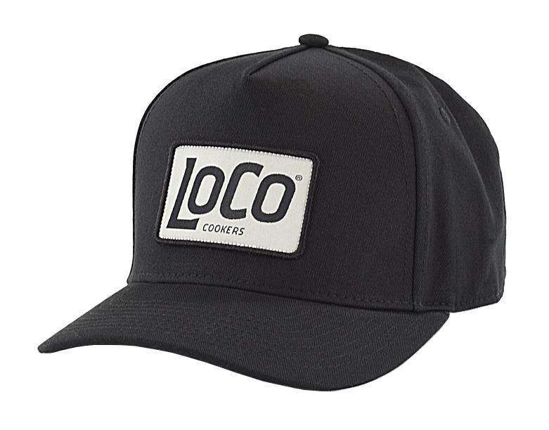 LoCo Patch Black Cap Regular - LoCo Cookers