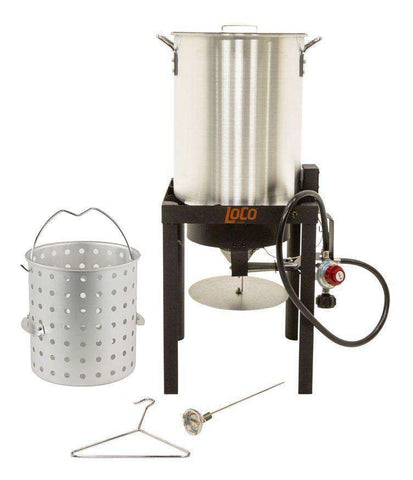 Fall Fry Party 36 QT Propane Turkey Fryer Kit