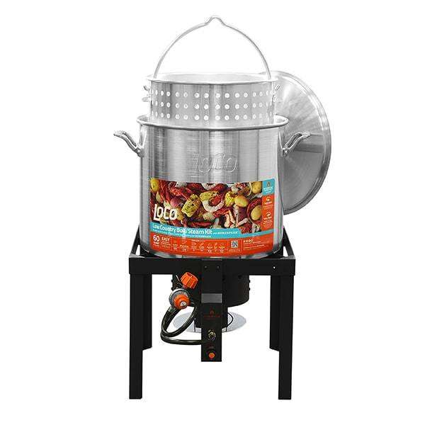 LoCo 60qt Boiling Kit with Twist and Steam/Sure Spark