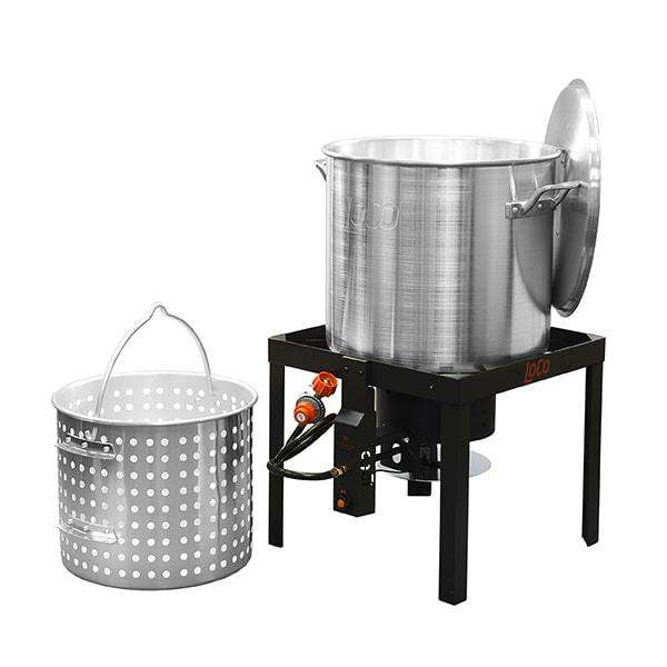 LoCo 60qt Boiling Kit with Twist and Steam/Sure Spark - LoCo Cookers