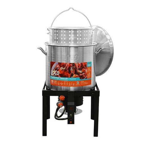 LoCo 80qt Boiling Kit with Twist and Steam/Sure Spark