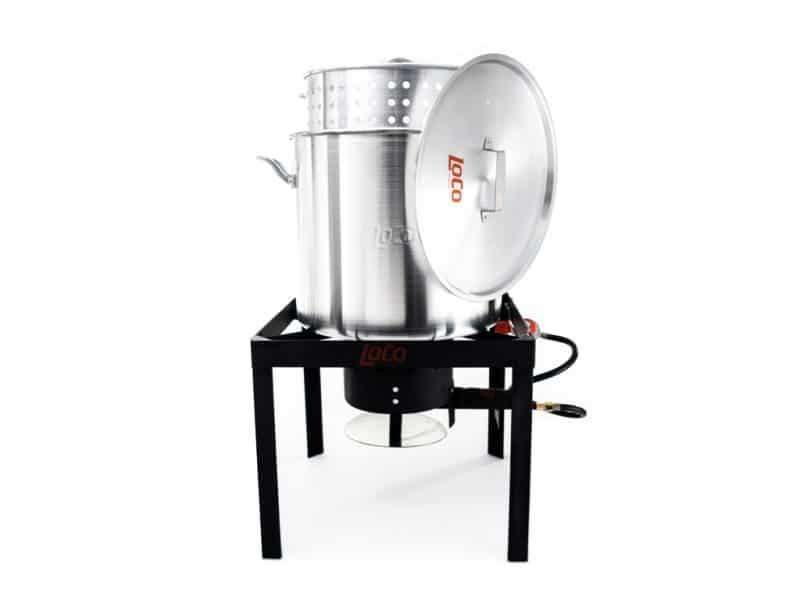 100 QT Boiling Kit with Twist & Steam - LoCo Cookers
