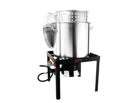 100 QT Boiling Kit with T&S - LoCo Cookers
