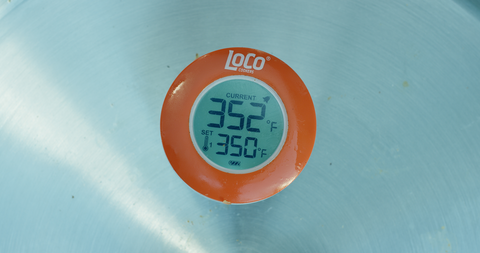 LoCo Digital Oil Thermometer - LoCo Cookers