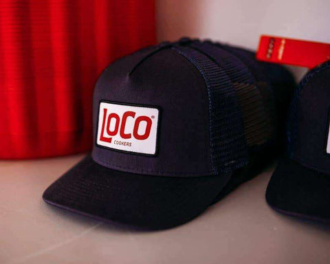 LoCo Patch Navy Trucker Hat - LoCo Cookers