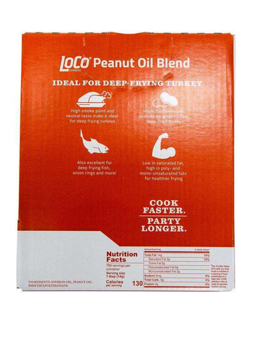 3 GALLONS BLENDED PEANUT OIL