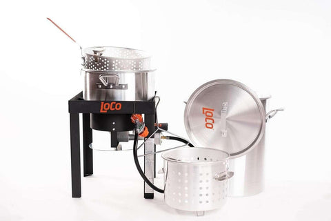 30 QT Boil Fry Steam Kit