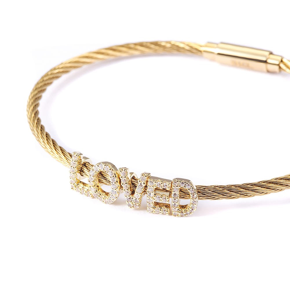 Loved Cable Bracelet