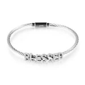 Blessed Cable Bracelet
