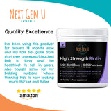 120 High Strength Vegan Biotin Tablets