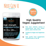 360 High Strength Magnesium and Zinc Tablets
