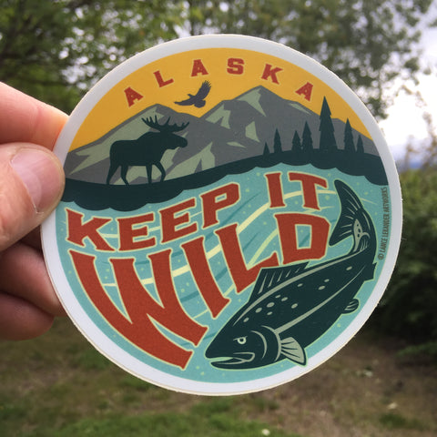 Keep it Wild sticker