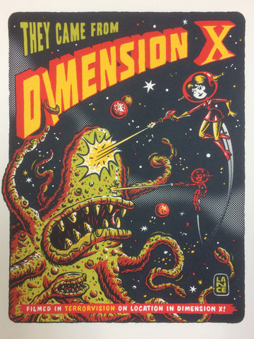 They Came From Dimension X!