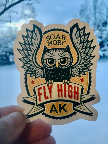 Fly High sticker