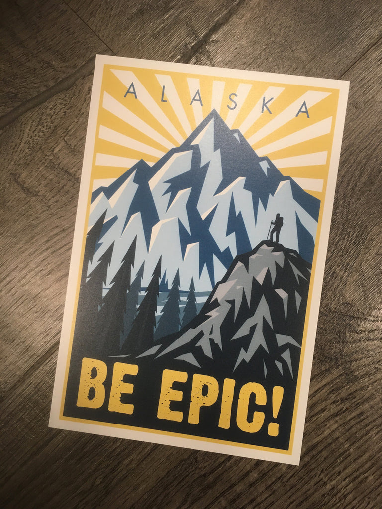 Be Epic postcard