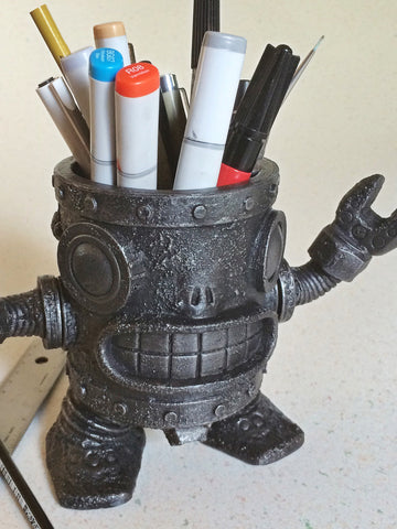 Robot Pencil Holder