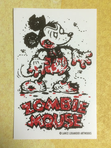 Zombie Mouse! sticker