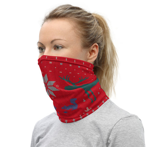 Winter Knit Style Neck Gaiter