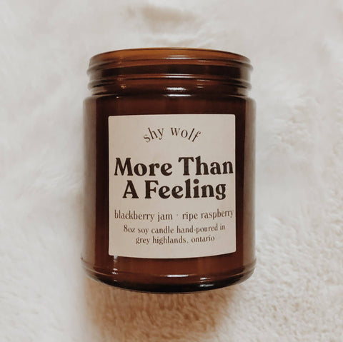 More Than a Feeling Soy Candle - Blackberry & Raspberry