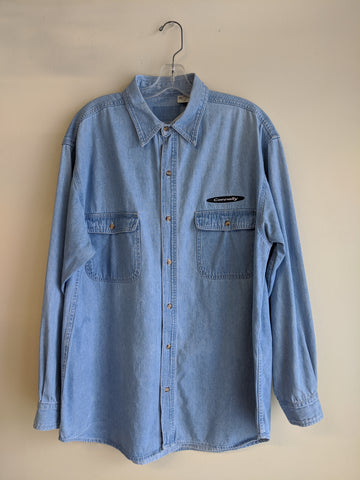 Men's 1990s Connelly Denim Shirt