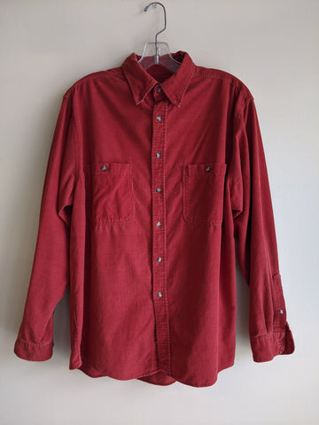 Red Cherokee Corduroy Shirt
