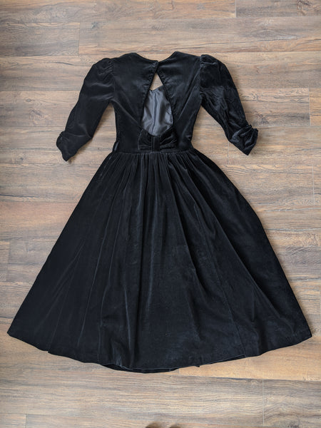 Laura Ashley Velvet Dress