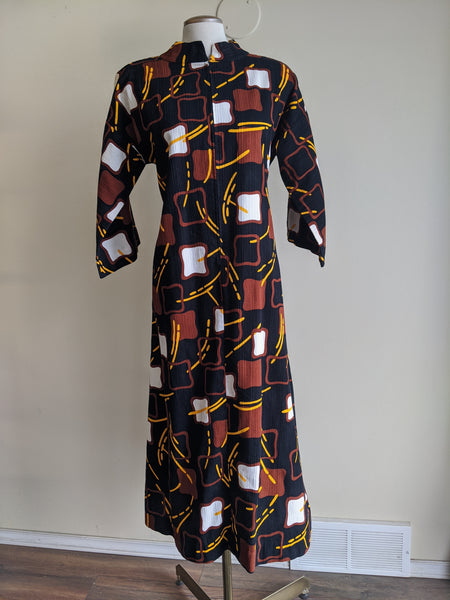 1970's Eggs n' Toast Dress