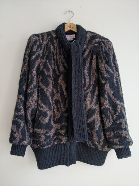 Wild Zip-Up Sweater Coat
