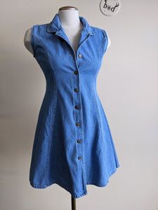 1990s Denim Mini-Dress