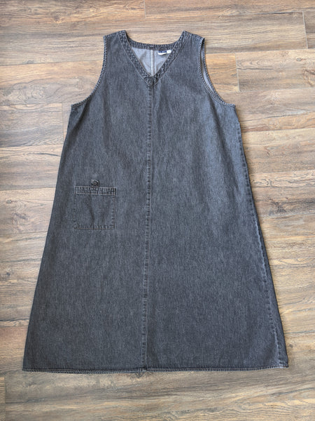 Grey Denim Jean Dress