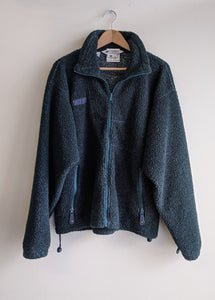 Forest Green Columbia Fleece