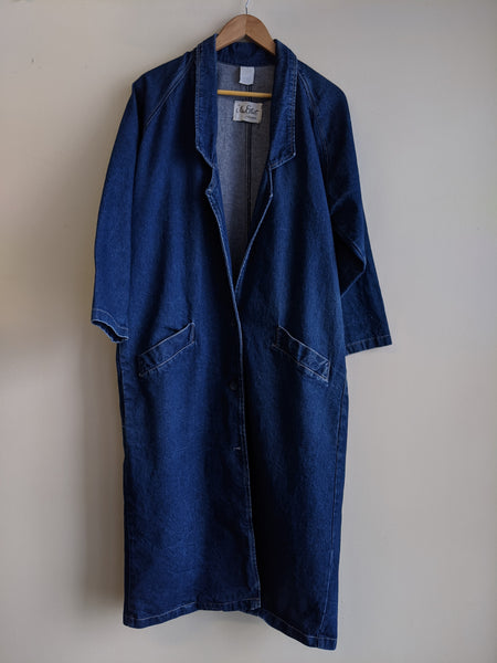 1990s Longline Denim Jacket