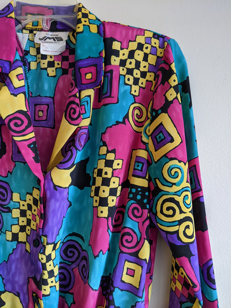 Fresh 1990s Pullover Blouse