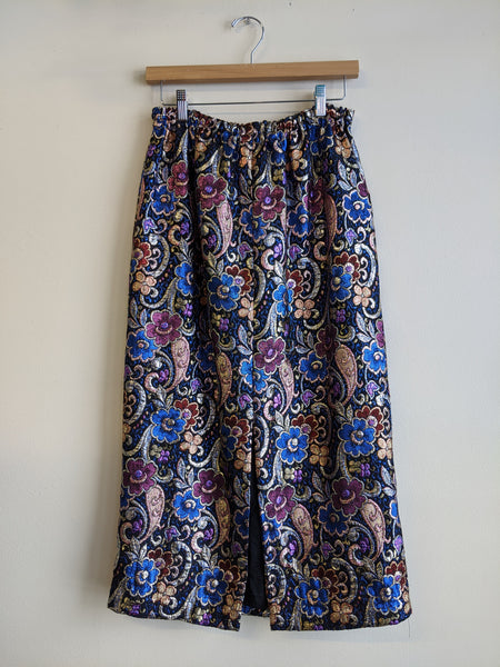 Fabulous Floral Brocade Skirt