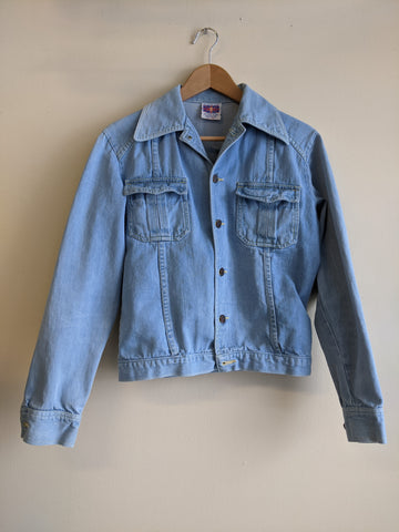 Lightwash 1970's Denim Jacket
