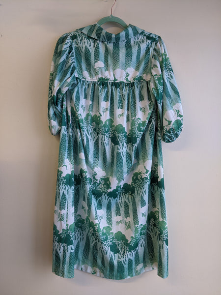 Botanical Print House Dress