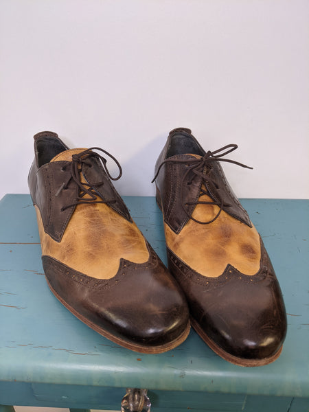Men's Brown & Tan Brogues