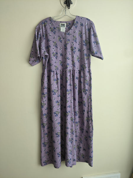 Lovely Lilac-Print Dress